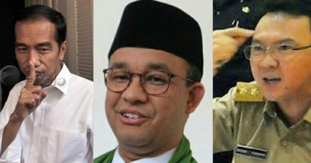 Adu Tegas Anies, Jokowi dan Ahok