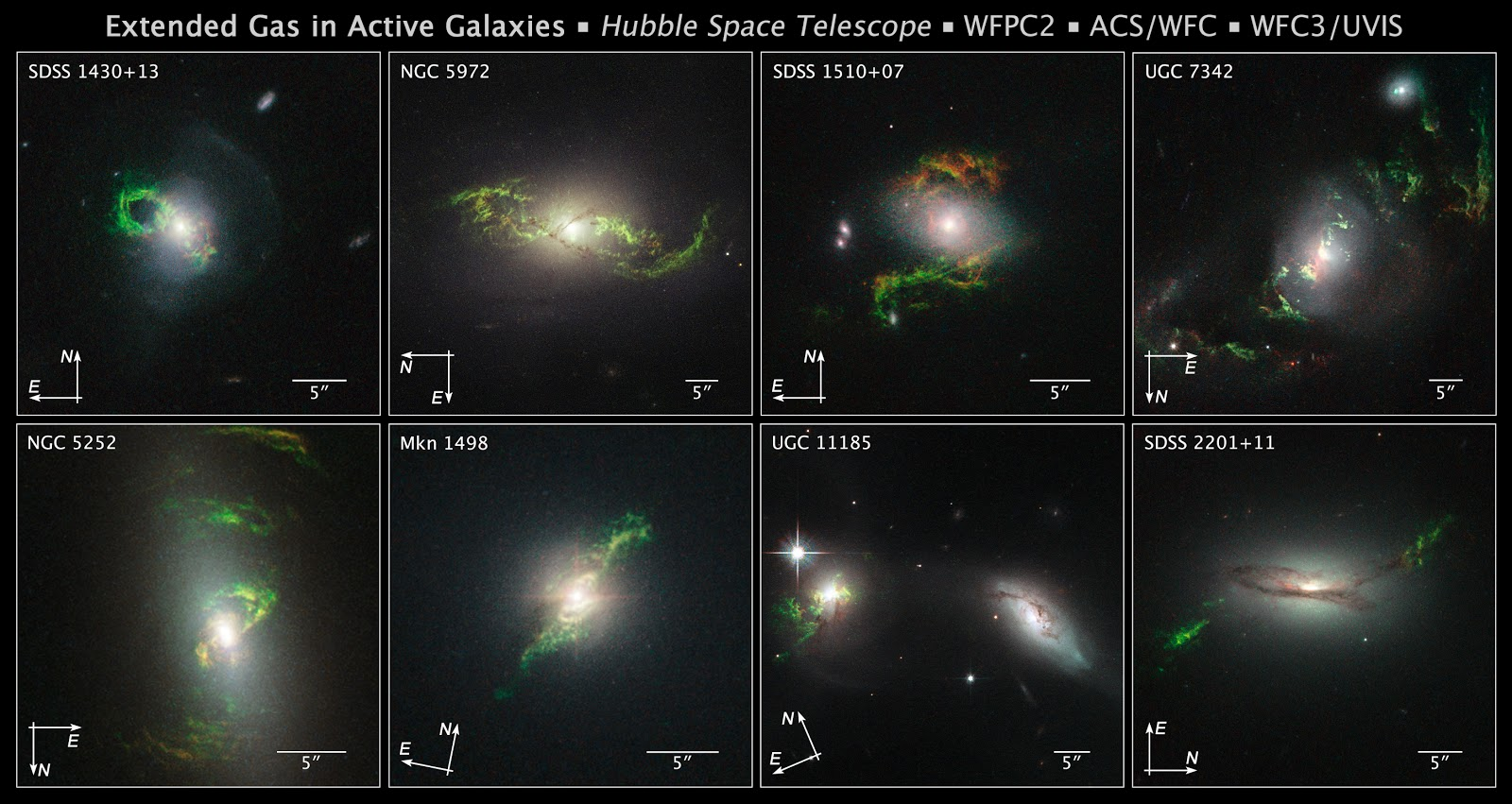 Hubble finds Phantom Objects near Dead Quasars