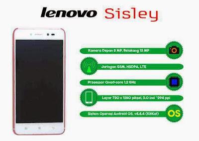 Harga Lenovo Sisley Terbaru