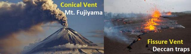 Ekstrusi Magma dan Materialnya