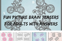 Fun Picture Brain Teasers for Adults with Answers