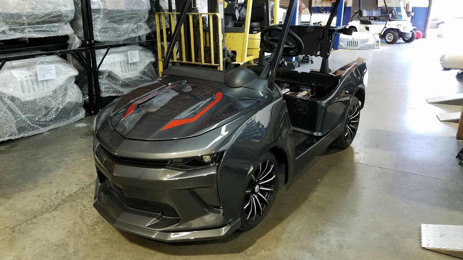 Mobil Listrik Golf Chevrolet Camaro