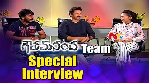 Gautham Nanda Movie Team Interview