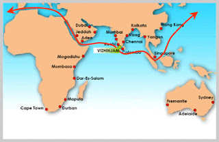 international trade route