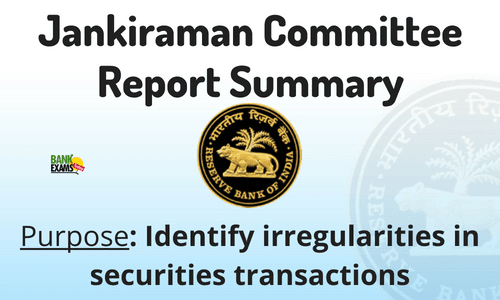 jankiraman committee report
