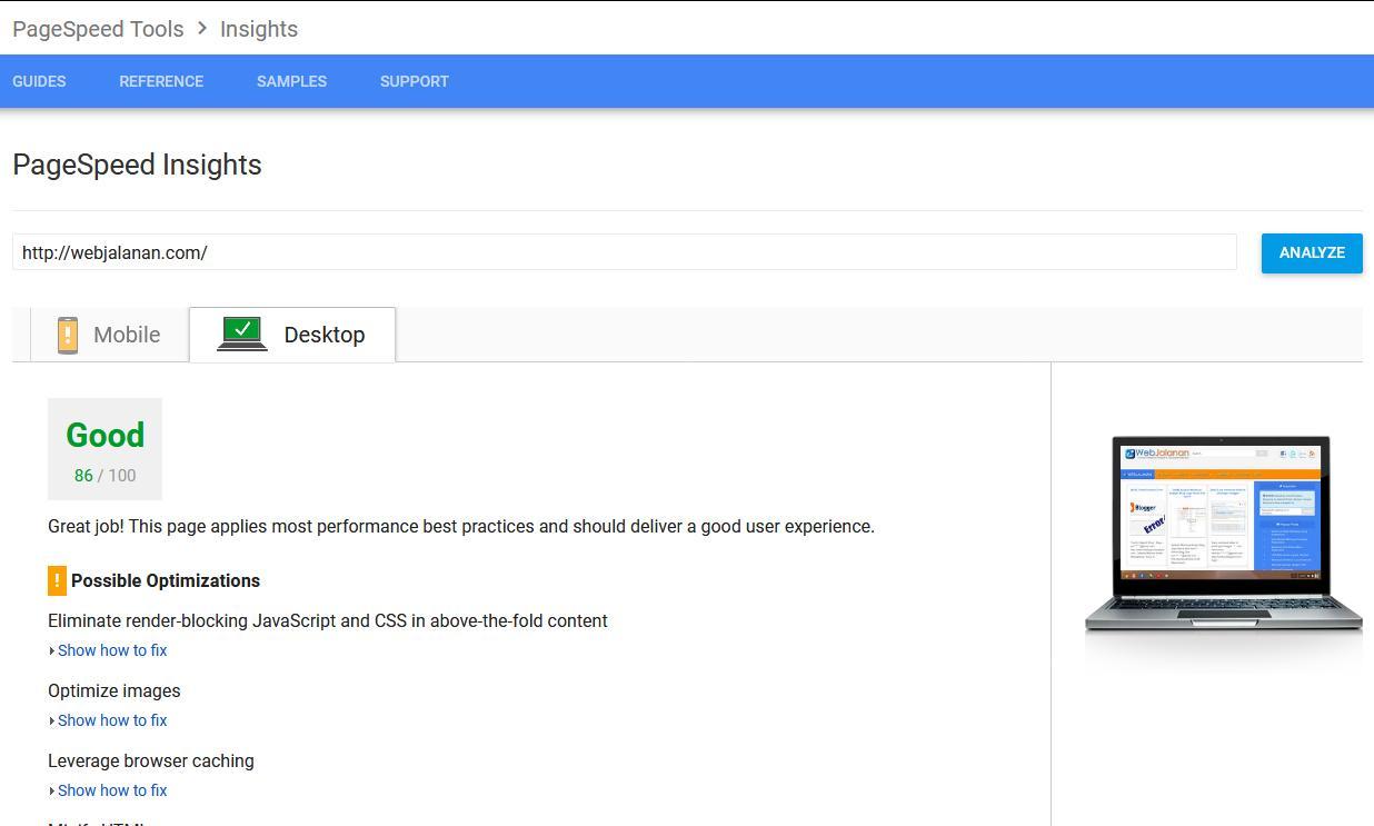 Cara mudah membuat web screenshots / web thumbnail.