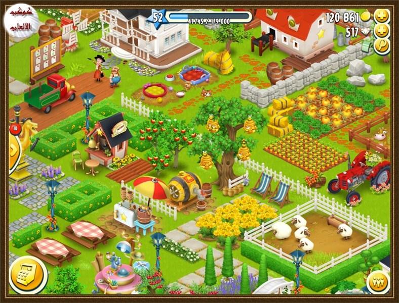 تحميل لعبة المزرعة السعيدة للاندرويد Download  hayday Games 2016