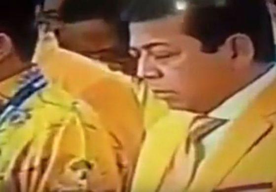 VIDEO Setya Novanto Tertidur Saat Mengheningkan Cipta Jadi Trending Topik