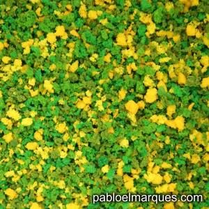 J-01 Jardín: flores amarillas