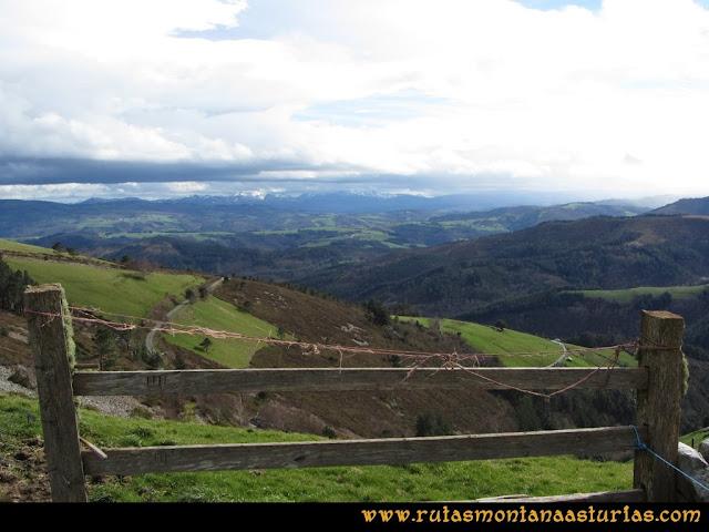 Ruta Alto Aristebano, Estoupo, Capiella Martín: Valle en el occidente