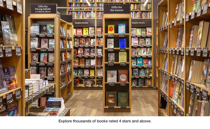 所有的書都「正面朝上」——亞馬遜首家實體店明日開張!