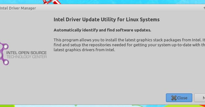 Ubuntu Buzz !: How To Install Intel Linux Graphics Installer