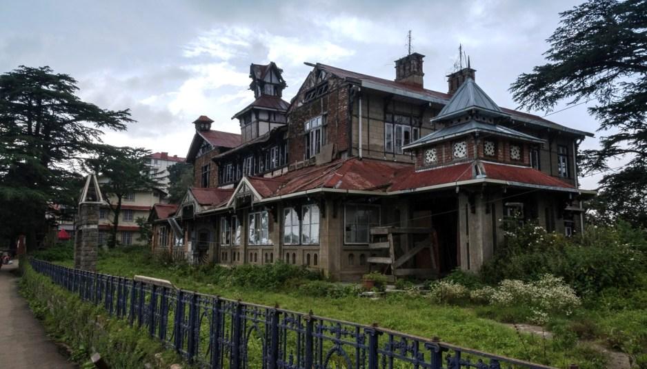 Bantony, heritage colonial building, now a heritage site, Simla ...