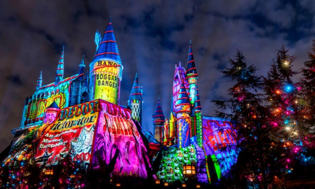 Christmas Day Universal Studios Orlando