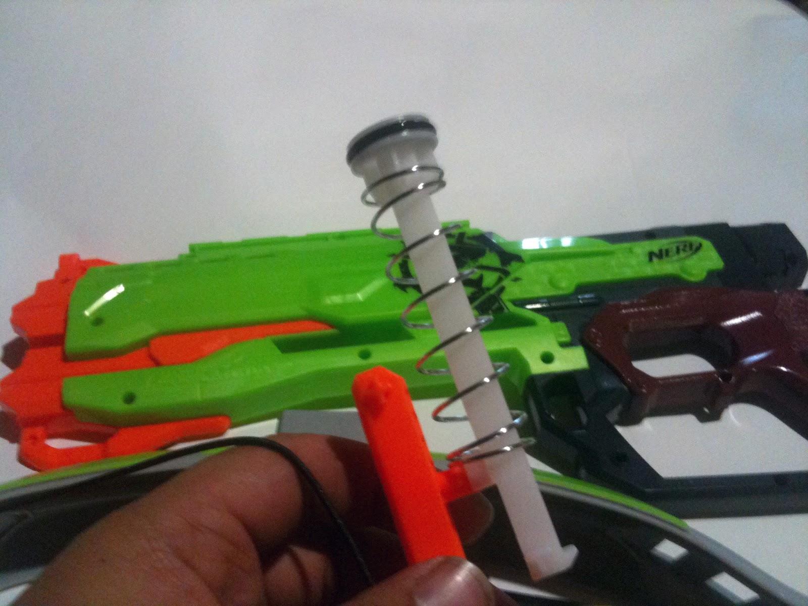 Nerf zombie strike crossfire bow mod - Nerf Zombie Strike