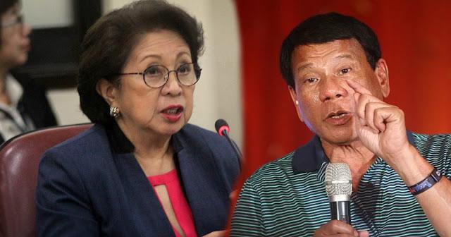 Duterte | Kinuha ni Ombudsman Conchita Morales ang mga Bank Record ko ng ilegal