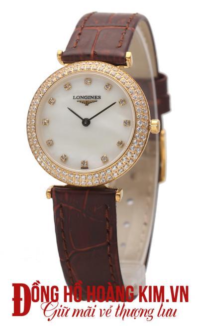 đồng hồ da nữ đẹp