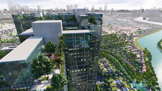 Dự án Sunshine Empire 88 tầng Hà Nội Tower Sky Villas khu đô thị Ciputra, Sunshine Empire Hà Nội dự án Sky Villas Tower Ciputra Nguyễn Hoàng Tôn,