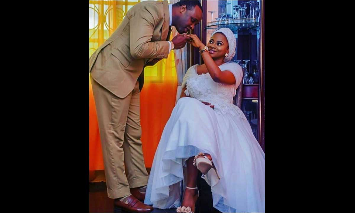 Popular actor and special assistant to Governor of Kwara State, Femi Adebayo has remarried.  He got married yesterday to a beautiful lady, Maimunat. The couple have been dating for a while after Femi separated from his first wife. Their Nikkah comes up today Sunday in Maryland, Ikeja.  Congrats to them! Two more photos below...