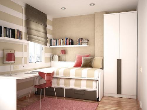 Habitación pequeña moderna