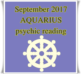 September 2017 AQUARIUS psychic reading horoscope