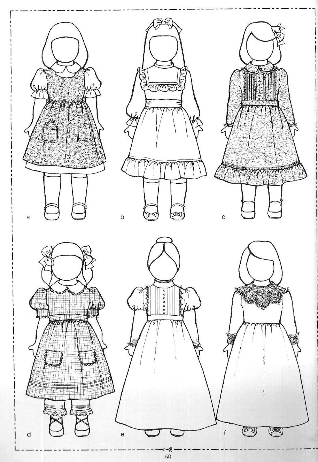 I Have Several Doll Clothing Patterns For You All Of