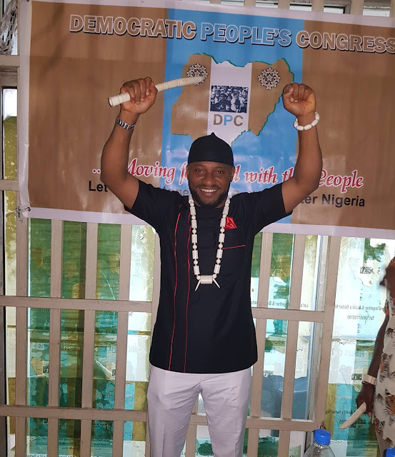 Yul Edochie to be governor of anambra state