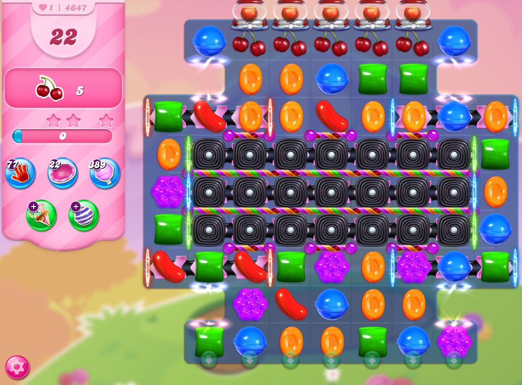Candy Crush Saga level 4647