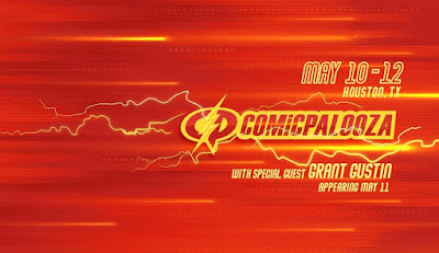 The Flash's Grant Gustin Runs To Houston For Comicpalooza 2019!