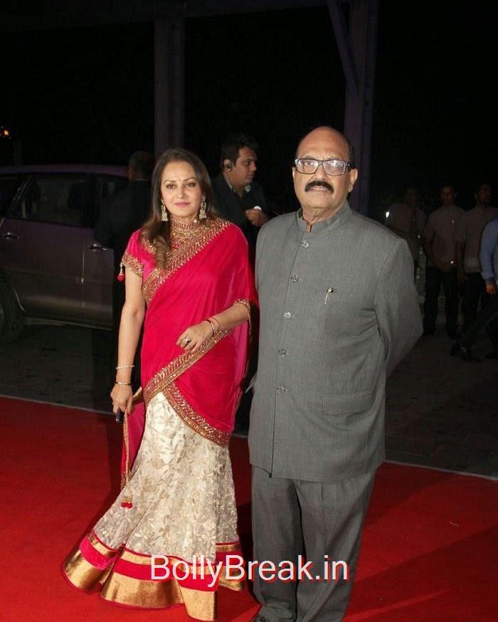 Jaya Prada, Shrikant Nahata, Rekha, Neetu Singh, Ahana Deol, Kiran Juneja At Sonakshi Sinha's Brother Kush Sinha Wedding Reception