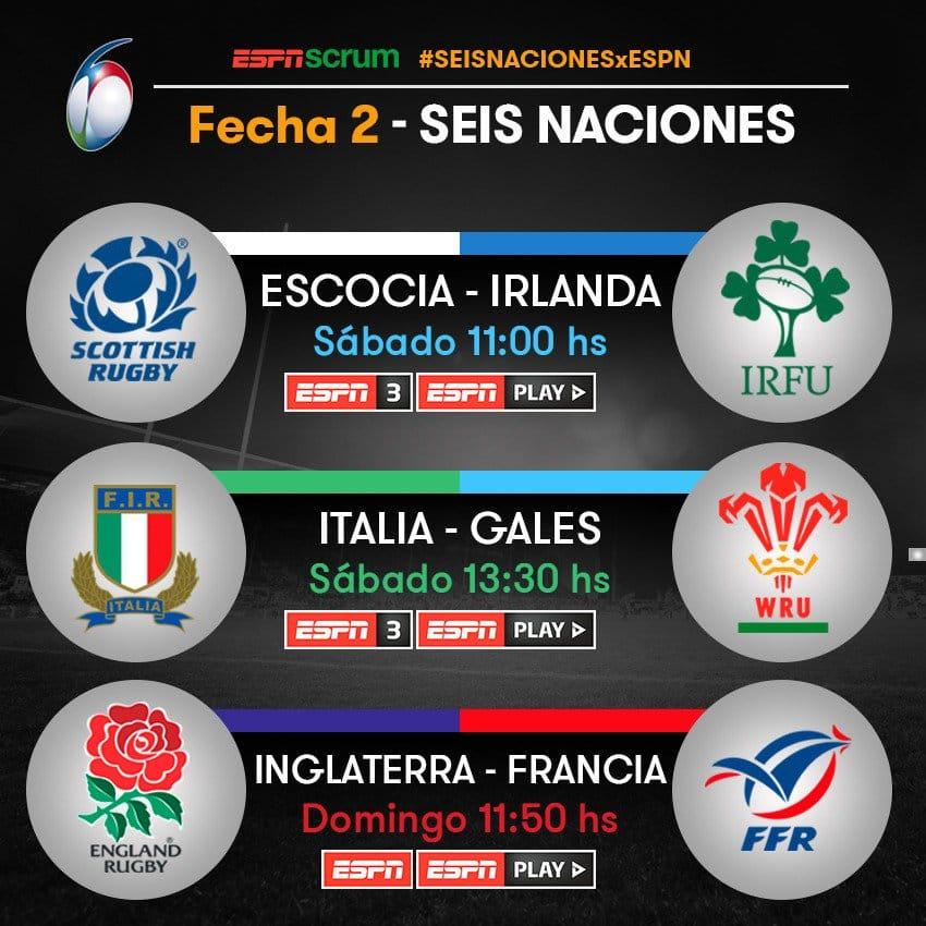 Programación de Tv #Rugby