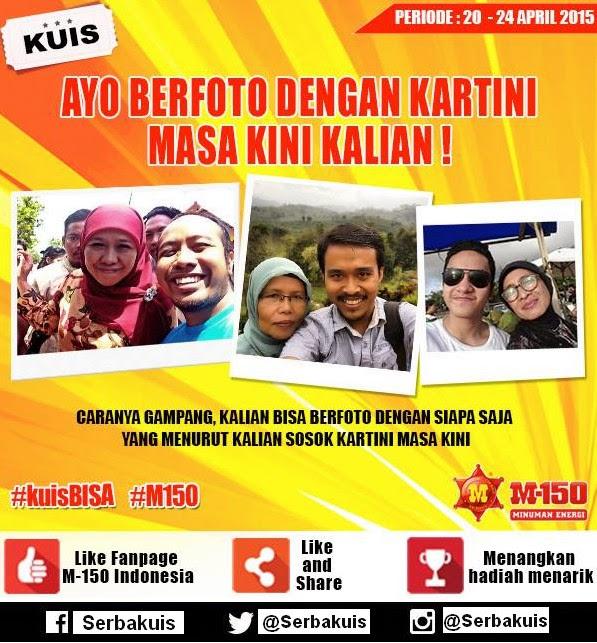 Kontes Foto Kartini Masa Kini M-150 Berhadiah Powerbank