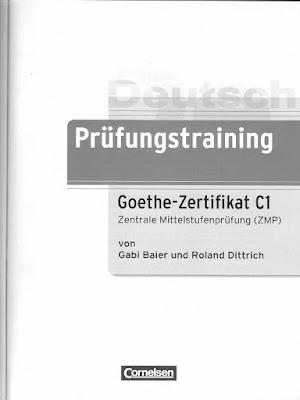 طريقك نحو اجتياز امتحانات اللغة الألمانية Goethe Zertifikat ، telc Deutsch للمستوى C1