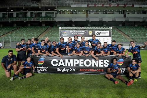 Argentina XV, Campeones Sudamericanos
