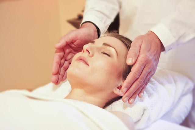 Massage the skin