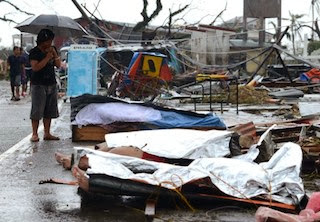 Philippines Storm 2013 death toll