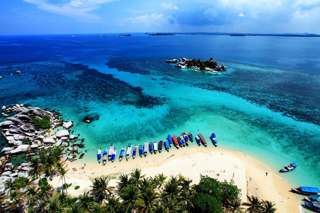 Wisata Bahari Pulau Lengkuas Di Belitung Tips Wisata Murah