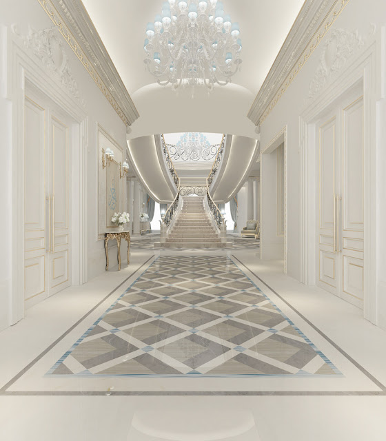 Best interior design companies and interior designers in dubai for Villa lobby interior design
