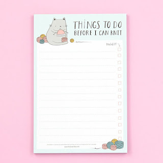 Knitter's To-Do List