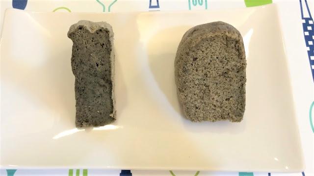 米蛋糕做法(二):椰香紫米水蒸蛋糕兩種版本比較圖
