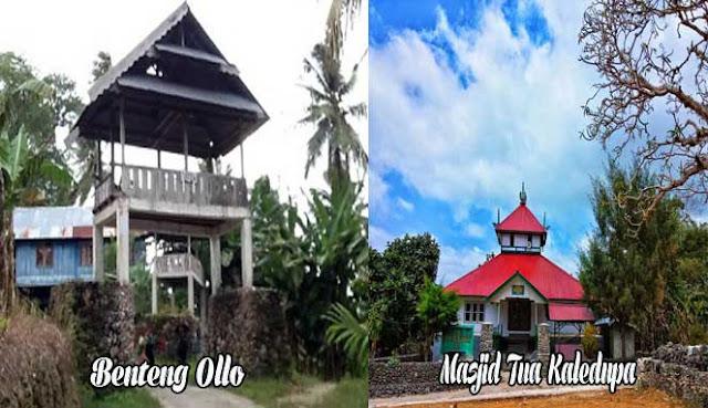 yaitu salah satu pulau bagus di formasi Kepulauan Tukang Besi PULAU KALEDUPA, SURGA TERSEMBUNYI DI WAKATOBI