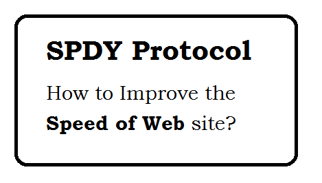 SPDY Protocol - Improve the Speed of web page