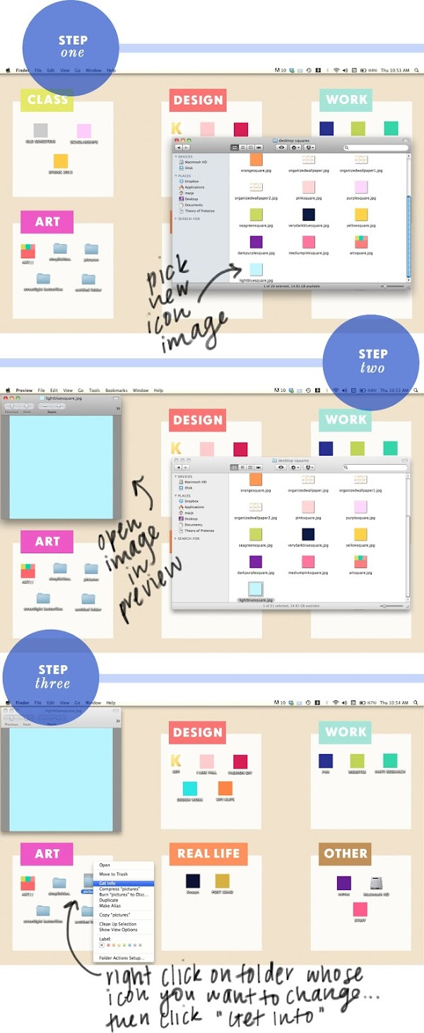 the kipi blog diy project 9 customize mac desktop folder icons. Black Bedroom Furniture Sets. Home Design Ideas