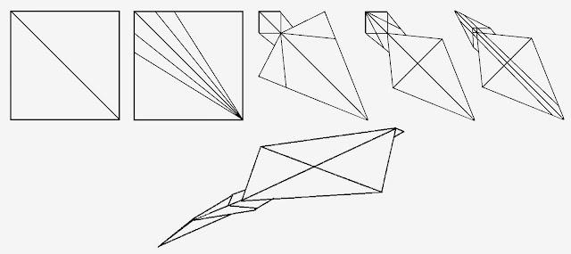 Avión de papel Wing 15