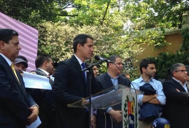 Guaidó asegura que invocará el 187