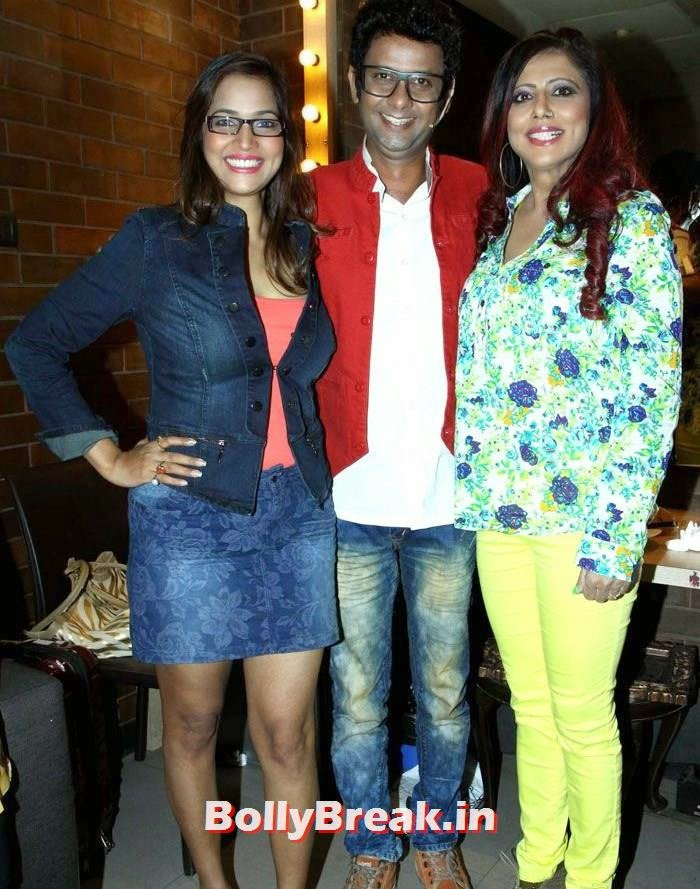 Tanisha Singh, Rehman Khan,Tinaa Ghaai, Brinda Parekh, Tanisha Singh at Rehman Khan's Stand Up Comedy Show