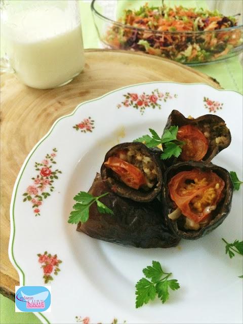 bulgurlu kuru patlıcan dolması , kuru patlıcan dolması, patlıcan dolması, bulgurlu dolma, antep mutfağı