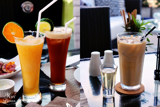 Refreshing Drinks at The Nest at Vivere Hotel