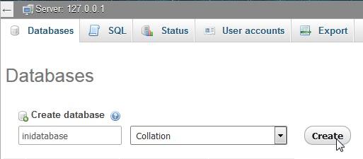 Cara Memindahkan Database atau Export dan Import
