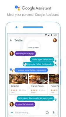 Fitur Google Assistant di Google Allo